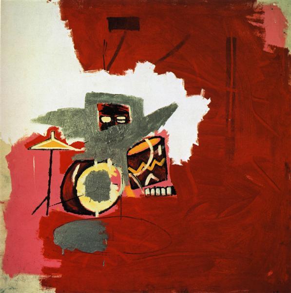 Max Roach, 1984 - Jean-Michel Basquiat