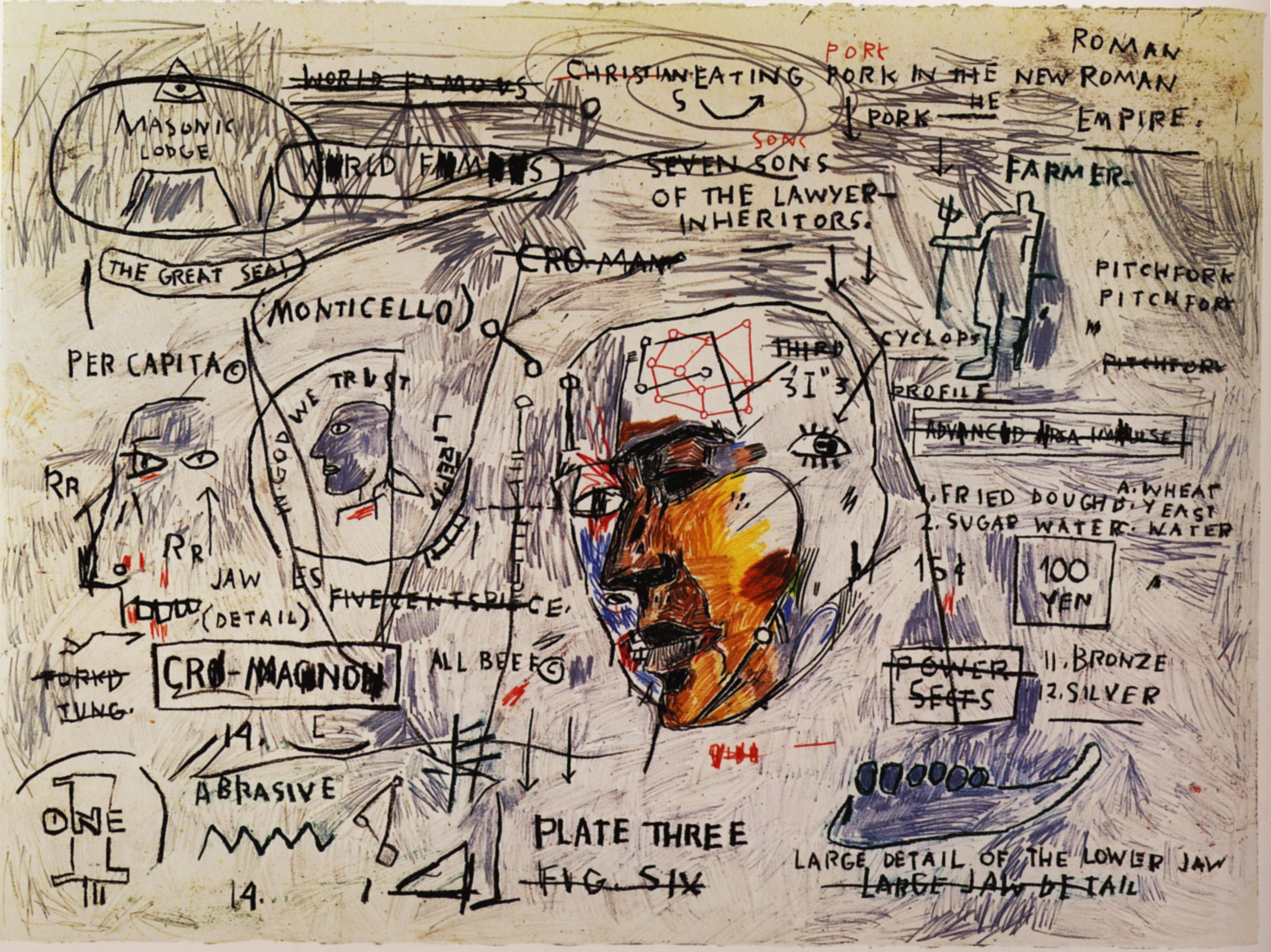 Monticello - Jean-Michel Basquiat - WikiPaintings.