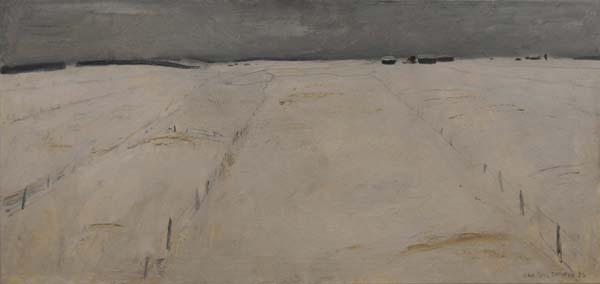 Les champs blancs, 1956 - Jean Paul Lemieux