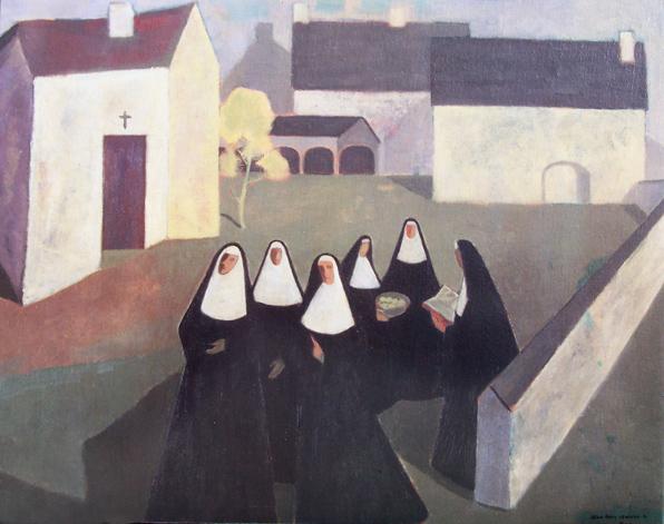 Les Ursulines - Jean Paul Lemieux