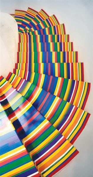 Tape Floor - Jim Lambie