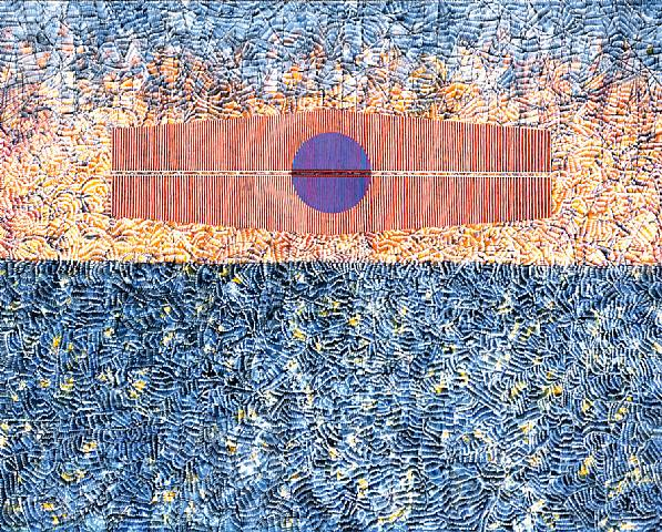 Silent Protest, 1976 - Jimmy Ernst