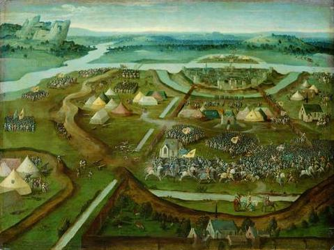 Battle of Pavia - Joachim Patinir
