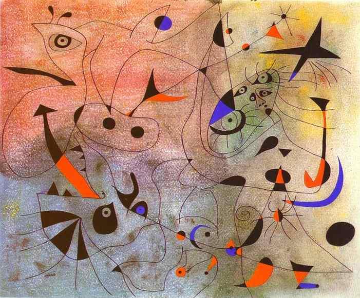 Constellation: The Morning Star, 1940 - Joan Miro