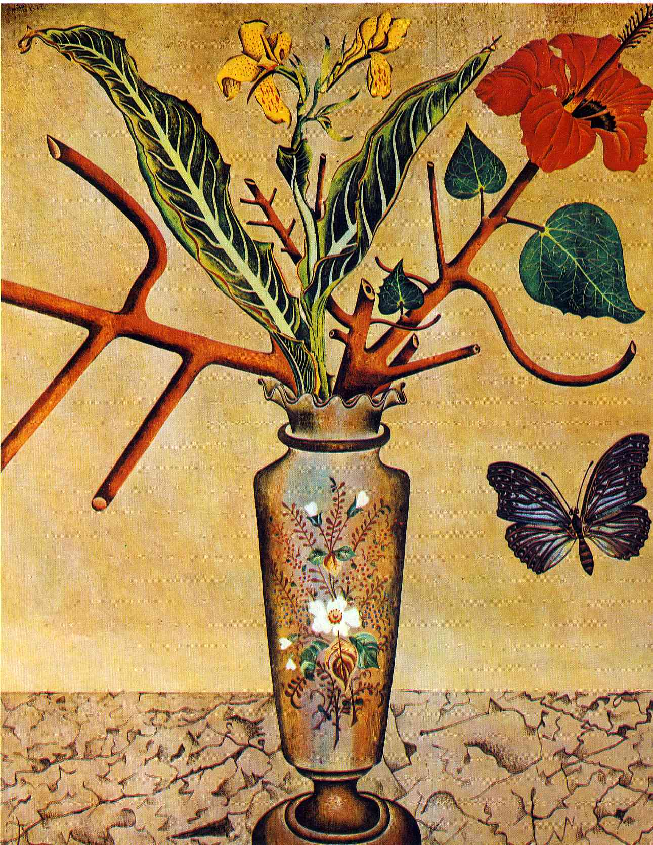 Joan Miró - Page 3 Flowers-and-butterfly