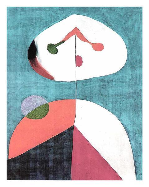 Portrait II, 1938 - Joan Miro