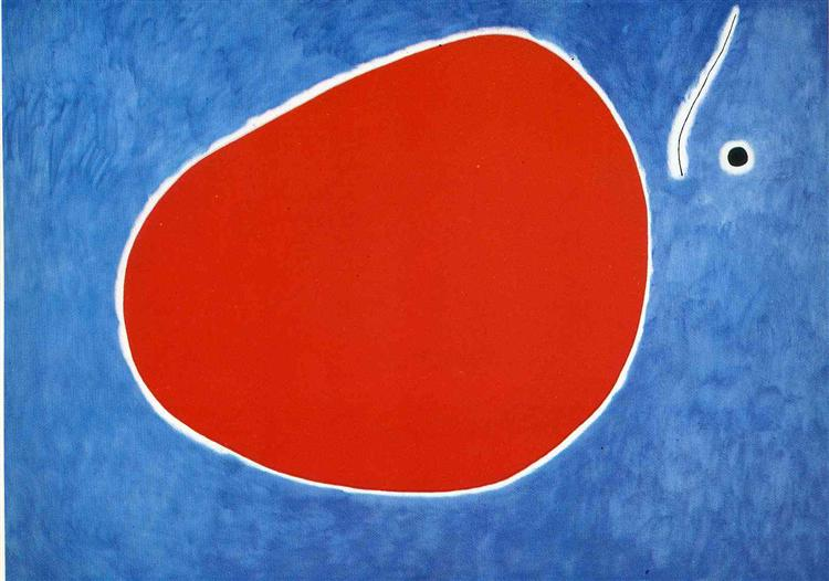 The Flight of the dragonfly in Front of the Sun, 1968 - Joan Miro