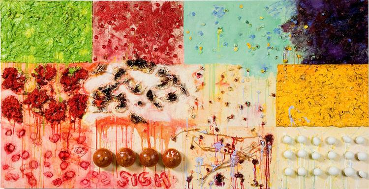 Sigh, 2006 - Joan Snyder