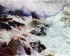 Sea and rocks - Jávea - Joaquín Sorolla