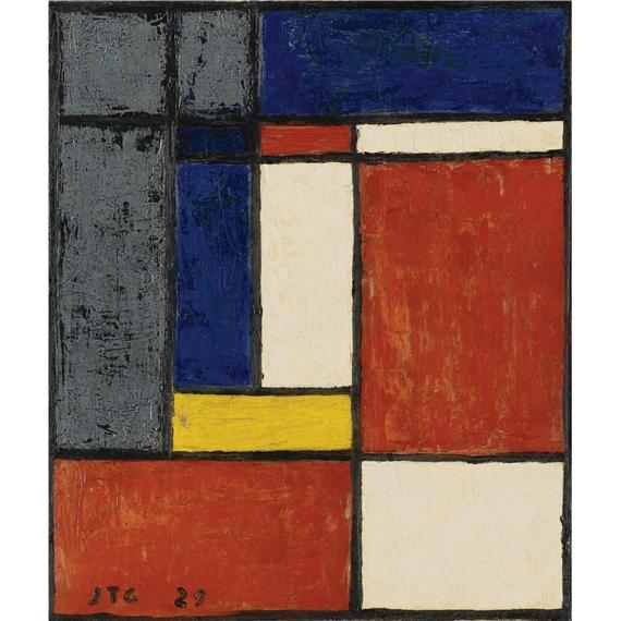 Costruzione Geometrica, 1929 - Хоакін Торрес Гарсія