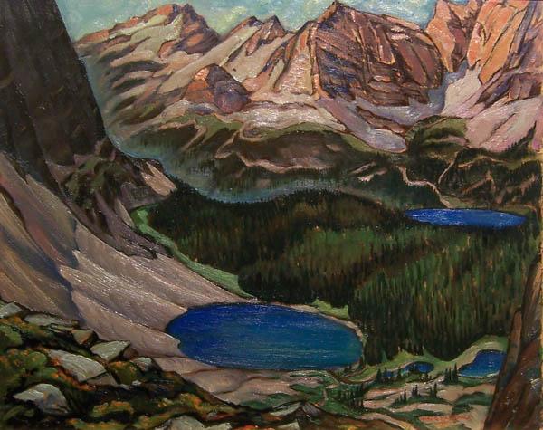 Lake O'Hara, 1941 - Jock Macdonald