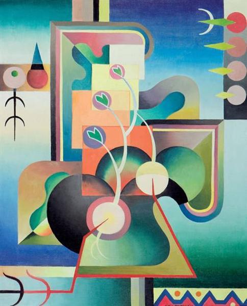 Modality Series, Spring Awakening 854A, 1937 - Джок Макдональд
