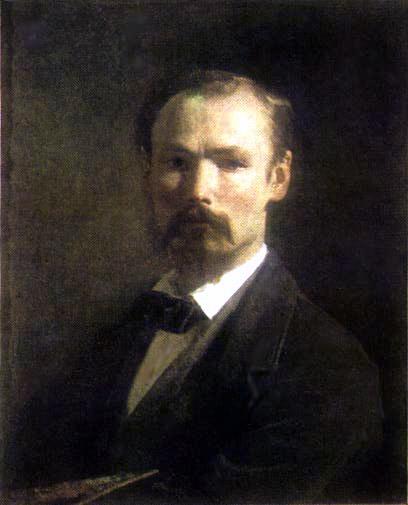 Self portrait, 1859 - Johann Koler