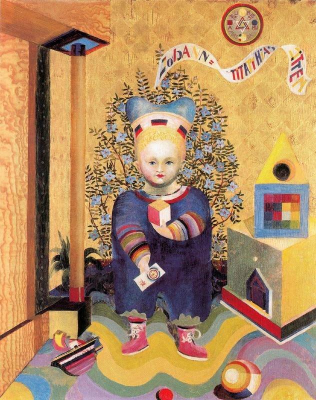 Children's Portraits, 1921-1922