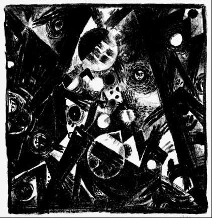 Komposition, 1919