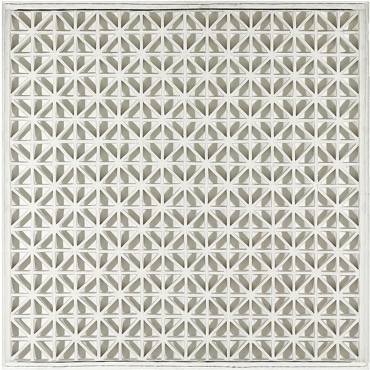 Square Relief with Diagonals, 1968