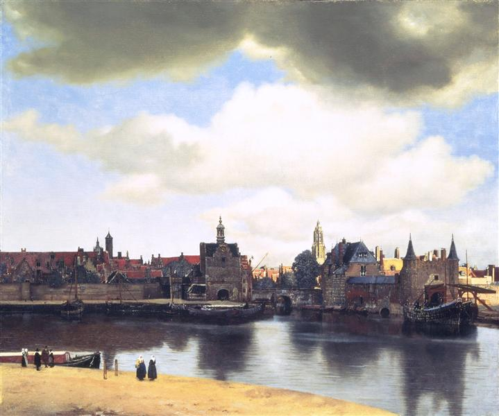 View on Delft, c.1660 - c.1661 - Johannes Vermeer