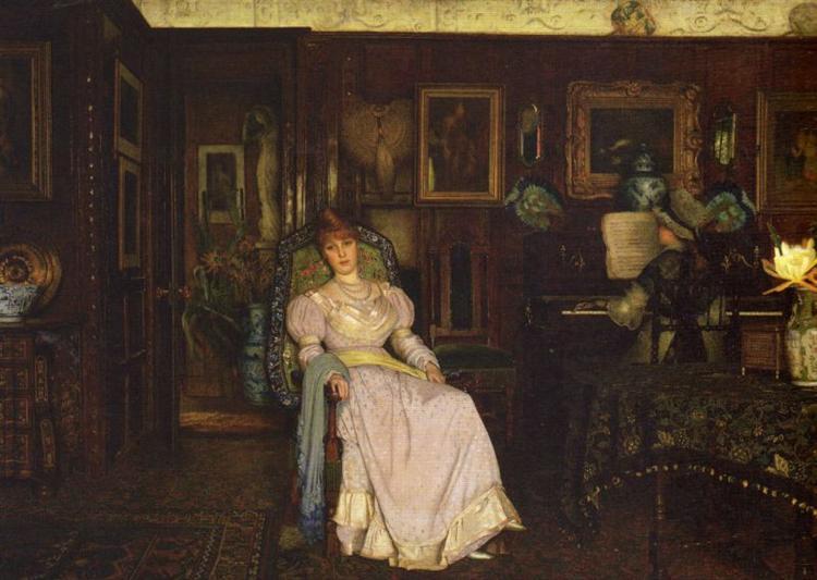 Dulce Domum, 1885 - John Atkinson Grimshaw