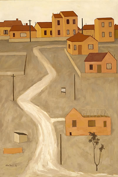 The unmade road, 1954