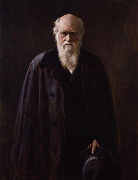 Charles Robert Darwin, 1883 - John Collier