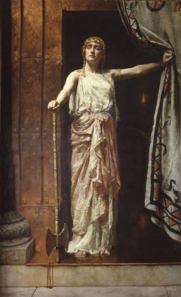 Clytemnestra, 1882 - John Collier