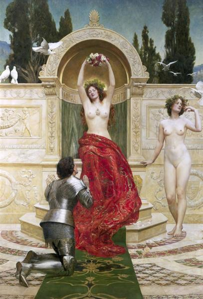 Tannhäuser in the Venusberg, 1901 - John Collier