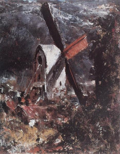 A Windmill near Brighton - John Constable