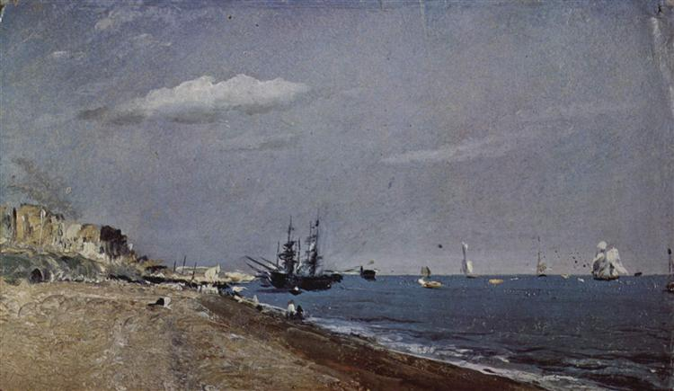 Brighton Beach with colliers, 1824 - John Constable