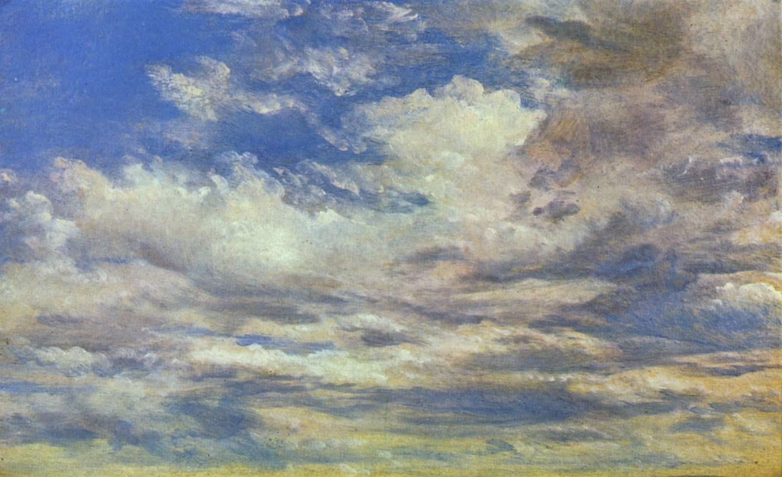 Cloud Study - John Constable - WikiArt.org - encyclopedia of visual arts