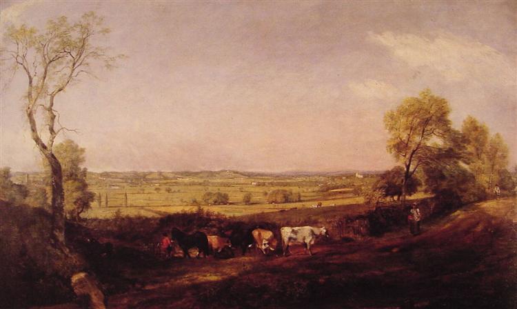 Dedham Vale: Morning, 1811 - John Constable