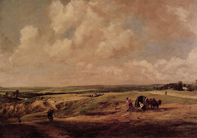 Hampstead Heath, c.1820 - John Constable
