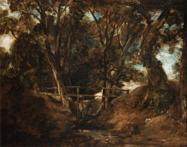 Helmingham Dell - John Constable