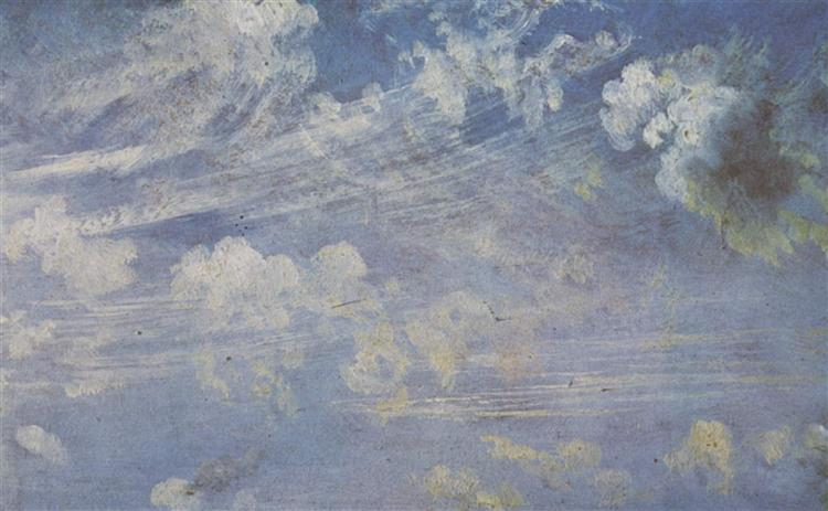 Spring clouds study, 1822 - John Constable