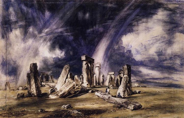 Stonehenge - John Constable
