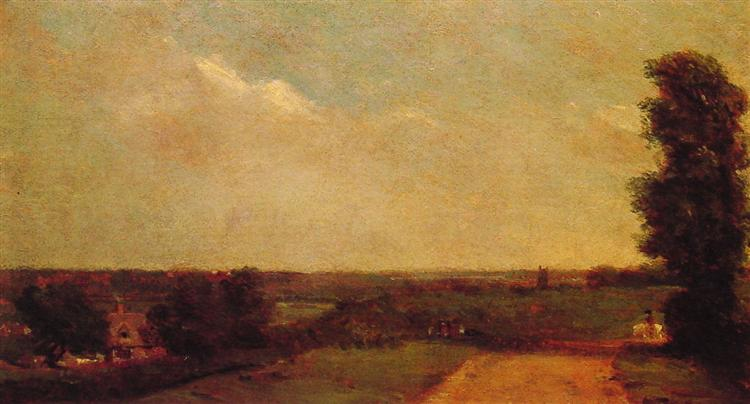 View towards Dedham, 1808 - John Constable