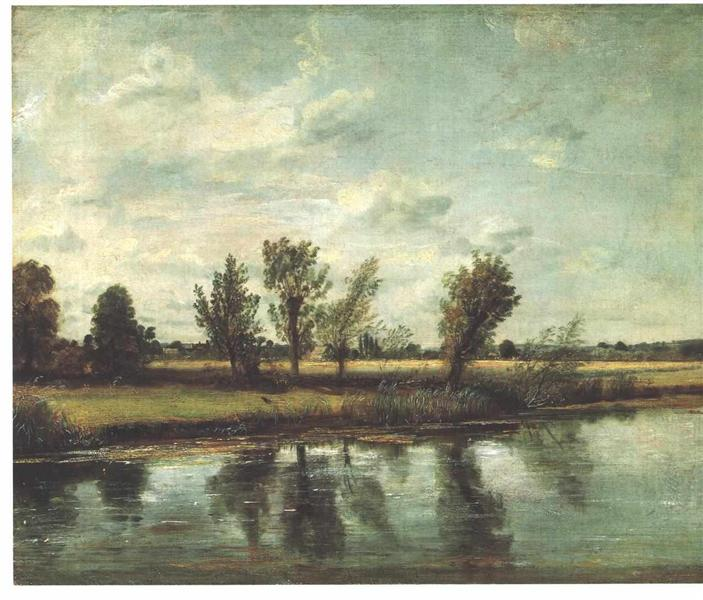 Water Meadows near Salisbury, 1820 - John Constable