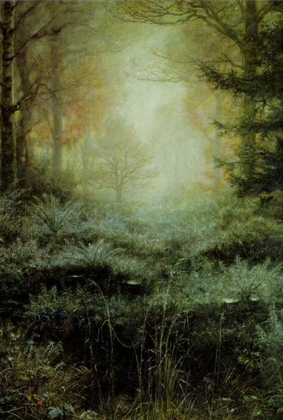 Dew Drenched Furze, 1890 - John Everett Millais
