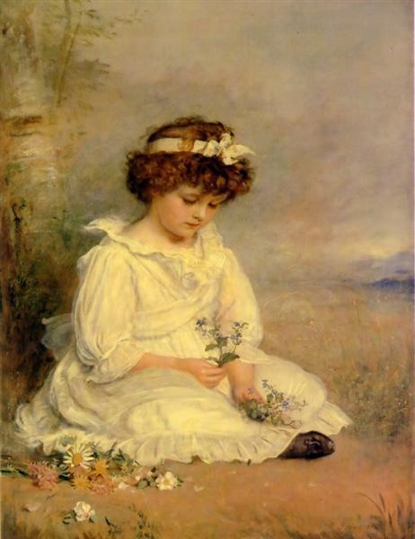 Little Speedwell's Darling Blue, 1892 - John Everett Millais