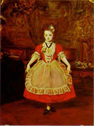 The Minuet, 1866 - John Everett Millais