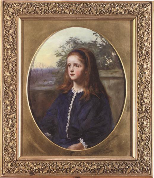 Portrait of Margaret Fuller Maitland - John Everett Millais