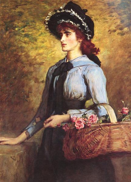 Sweet Emma Morland, 1892 - John Everett Millais