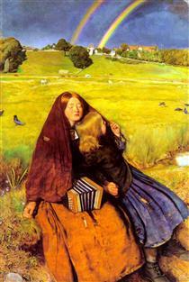 The Blind Girl - John Everett Millais