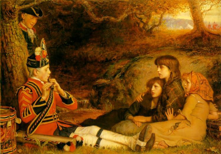 The Piper - Джон Эверетт Милле