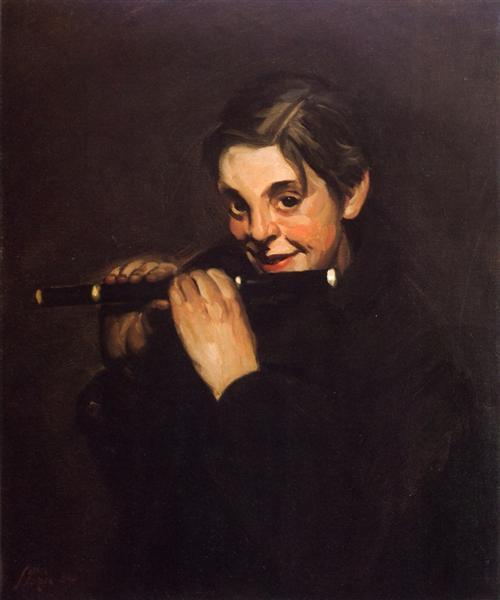 Boy with Piccolo, 1904 - John French Sloan