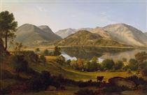 Ullswater, early morning - Джон Гловер