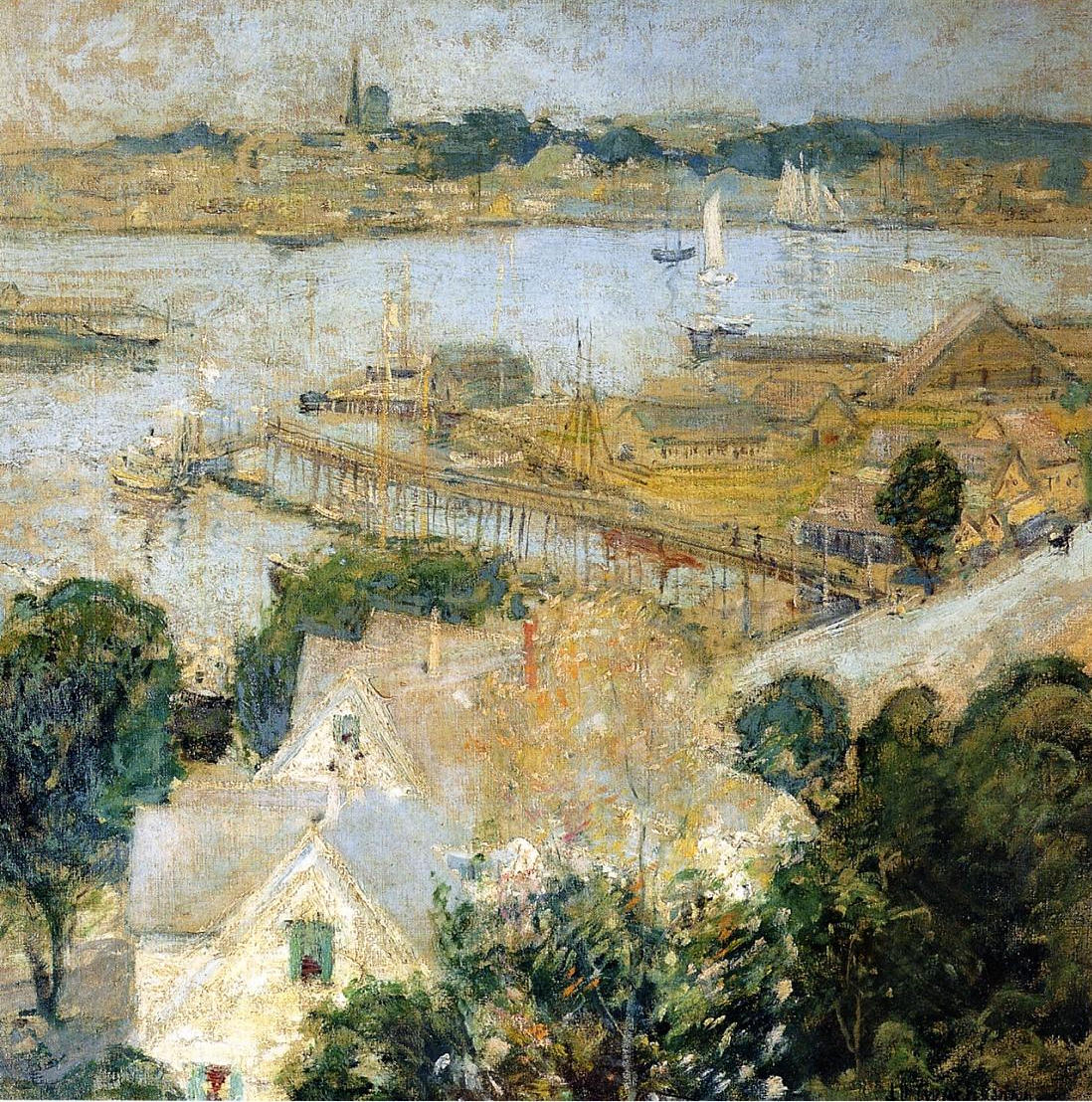 Gloucester Harbor, 1900
