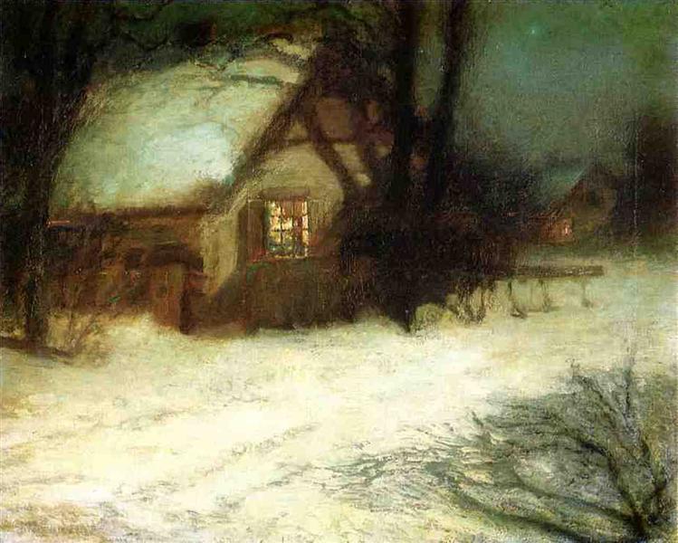 The Christmas Tree - John Henry Twachtman