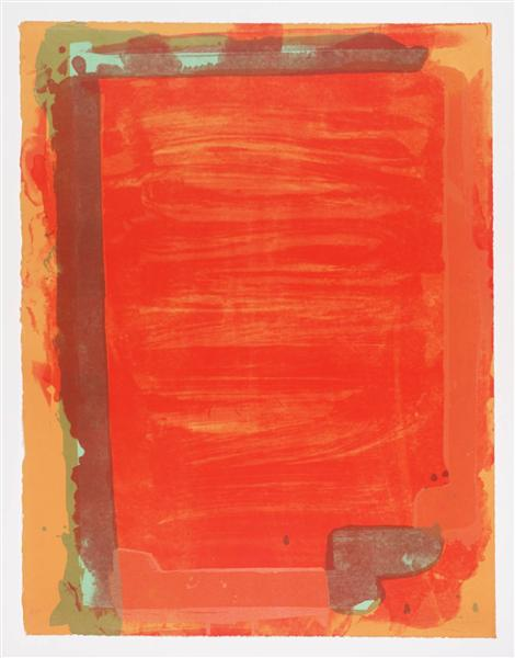 Untitled III, 1974 - John Hoyland