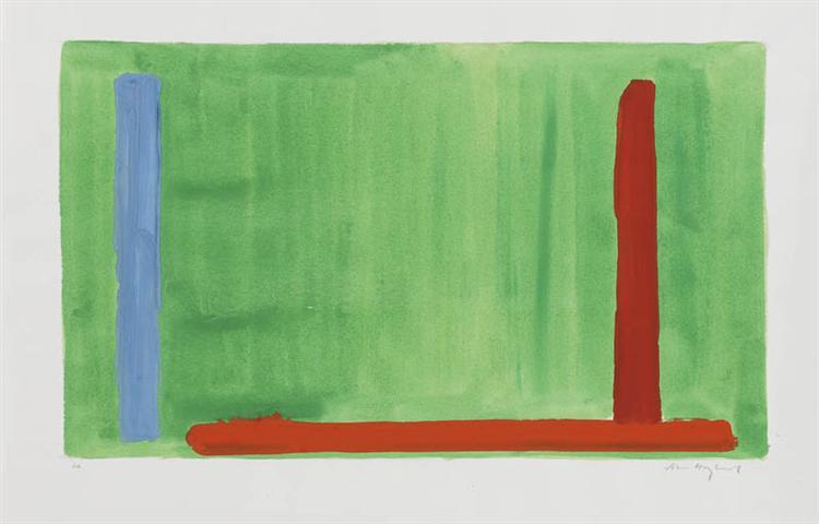 Untitled - John Hoyland