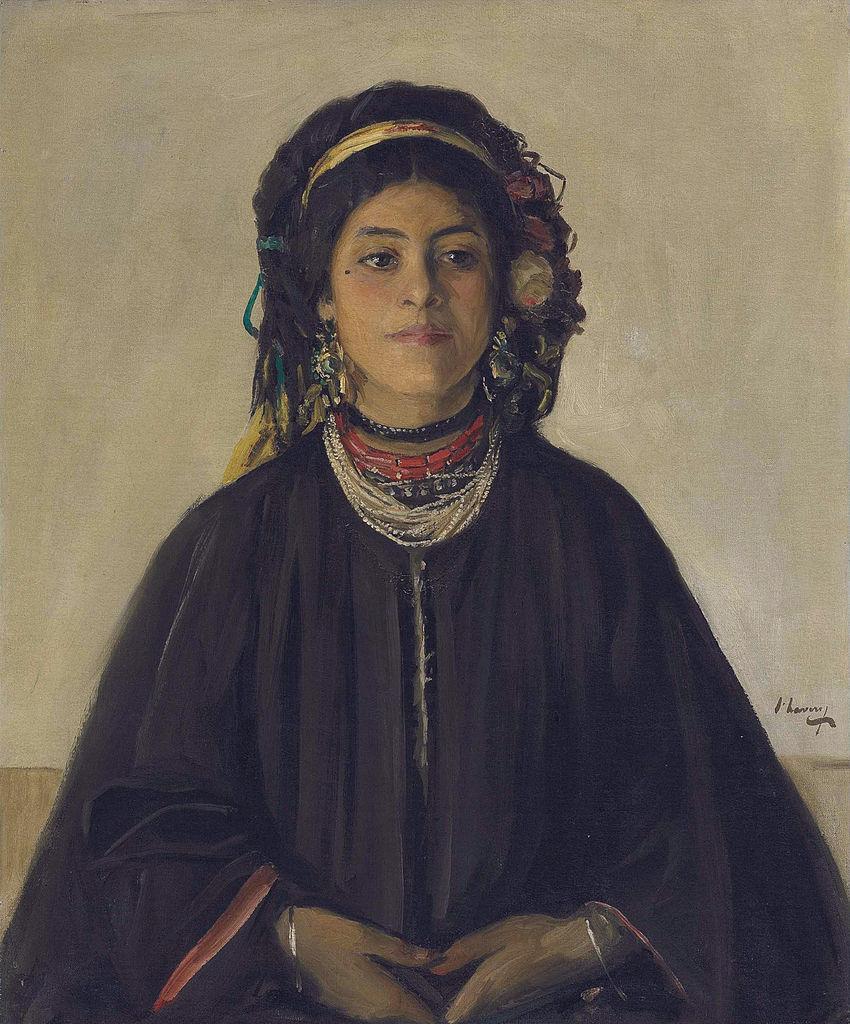 Aïda, a Moorish Maid - John Lavery - WikiArt.org - encyclopedia of ...